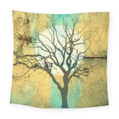 A Glowing Night Square Tapestry (large)