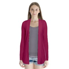 Deep red Cardigans