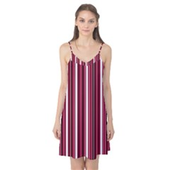 Red lines Camis Nightgown