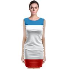 Flag of Crimea Classic Sleeveless Midi Dress