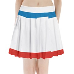 Flag of Crimea Pleated Mini Skirt