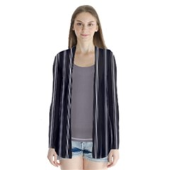Black and white lines Cardigans