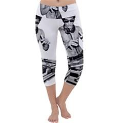 Bruce Lee Dj Capri Yoga Leggings