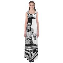 Bruce Lee Dj Empire Waist Maxi Dress