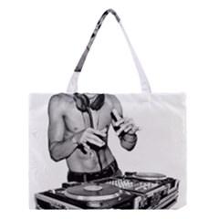 Bruce Lee Dj Medium Tote Bag