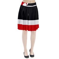 Tino Rangatiratanga Flag Pleated Skirt