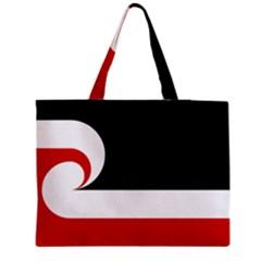 Tino Rangatiratanga Flag Medium Zipper Tote Bag