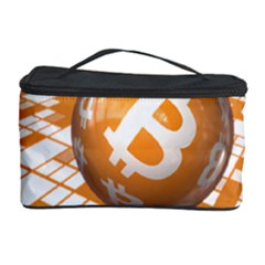 Network Bitcoin Currency Connection Cosmetic Storage Case