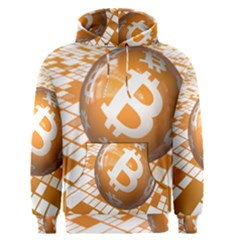Network Bitcoin Currency Connection Men s Pullover Hoodie