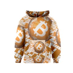 Network Bitcoin Currency Connection Kids  Pullover Hoodie