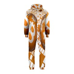 Network Bitcoin Currency Connection Hooded Jumpsuit (kids)
