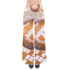 Network Bitcoin Currency Connection Pants
