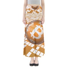 Network Bitcoin Currency Connection Maxi Skirts