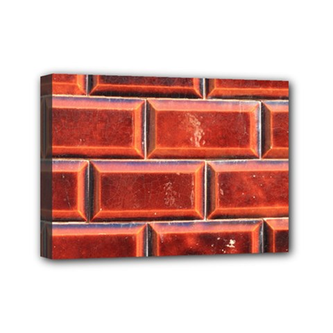 Portugal Ceramic Tiles Wall Mini Canvas 7  X 5