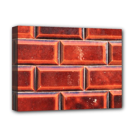 Portugal Ceramic Tiles Wall Deluxe Canvas 16  X 12