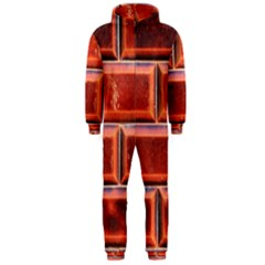Portugal Ceramic Tiles Wall Hooded Jumpsuit (men)