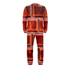 Portugal Ceramic Tiles Wall Onepiece Jumpsuit (kids)