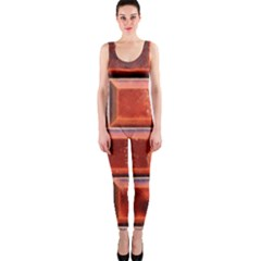 Portugal Ceramic Tiles Wall Onepiece Catsuit