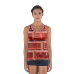 Portugal Ceramic Tiles Wall Women s Sport Tank Top