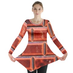Portugal Ceramic Tiles Wall Long Sleeve Tunic