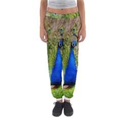 Peacock Animal Photography Beautiful Women s Jogger Sweatpants