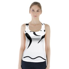 Assault Course Pictogram Racer Back Sports Top