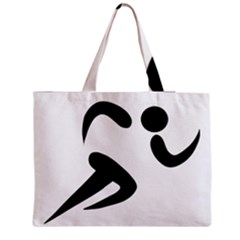 Athletics Pictogram Medium Zipper Tote Bag