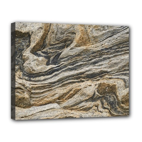 Rock Texture Background Stone Canvas 14  X 11