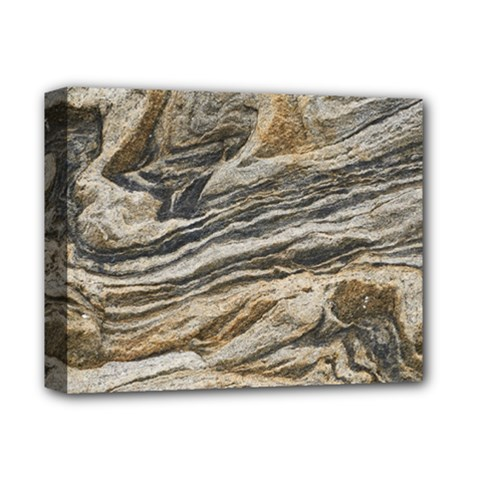Rock Texture Background Stone Deluxe Canvas 14  X 11