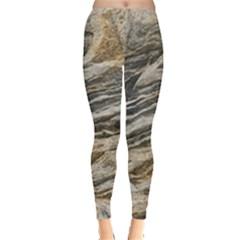 Rock Texture Background Stone Leggings