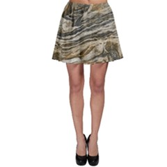 Rock Texture Background Stone Skater Skirt