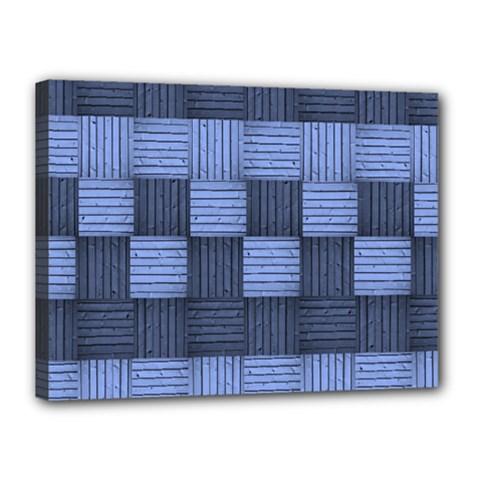 Texture Structure Surface Basket Canvas 16  X 12
