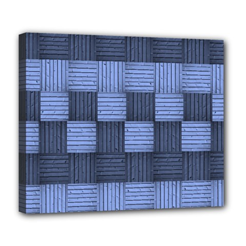 Texture Structure Surface Basket Deluxe Canvas 24  X 20