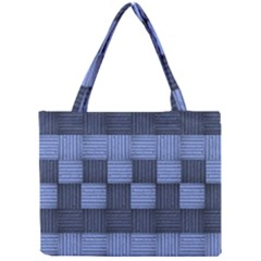 Texture Structure Surface Basket Mini Tote Bag