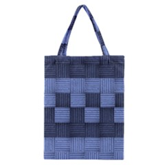 Texture Structure Surface Basket Classic Tote Bag