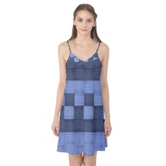 Texture Structure Surface Basket Camis Nightgown