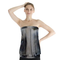 2 Chihuahua Strapless Top