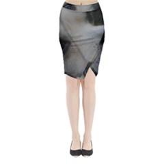 2 Chihuahua Midi Wrap Pencil Skirt