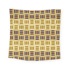 Textile Texture Fabric Material Square Tapestry (small)