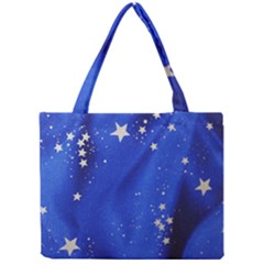 The Substance Blue Fabric Stars Mini Tote Bag