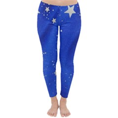 The Substance Blue Fabric Stars Classic Winter Leggings