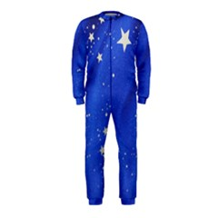 The Substance Blue Fabric Stars Onepiece Jumpsuit (kids)