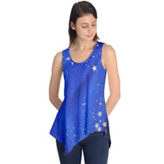 The Substance Blue Fabric Stars Sleeveless Tunic