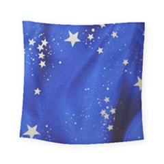 The Substance Blue Fabric Stars Square Tapestry (small)
