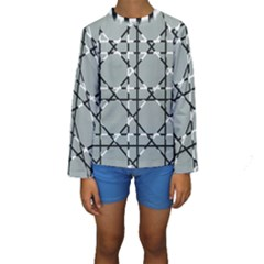 Texture Backgrounds Pictures Detail Kids  Long Sleeve Swimwear