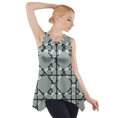 Texture Backgrounds Pictures Detail Side Drop Tank Tunic