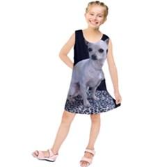 Chihuahua Sitting Kids  Tunic Dress