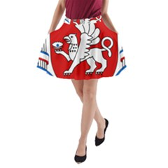 Coat of Arms of Crimea A-Line Pocket Skirt