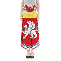 Coat of Arms of Crimea Maxi Skirts
