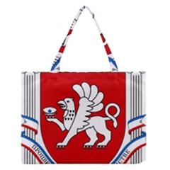 Coat of Arms of Crimea Medium Zipper Tote Bag